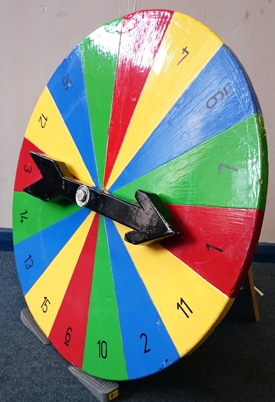 Spin The Wheel Resource Centre